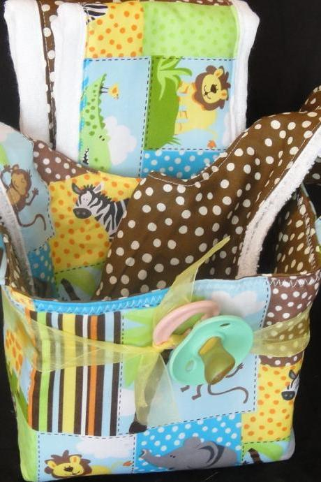 Baby Gift Basket Jungle Gift Set