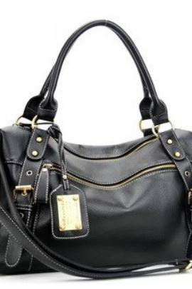 New Retro Casual Black Bag