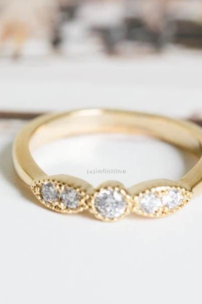 Gold cz wing knuckle ring, ring,knuckle ring,bridal rings,wedding ring,engagement ring,engagement gift,wedding gift,bridal jewelry,,R196N