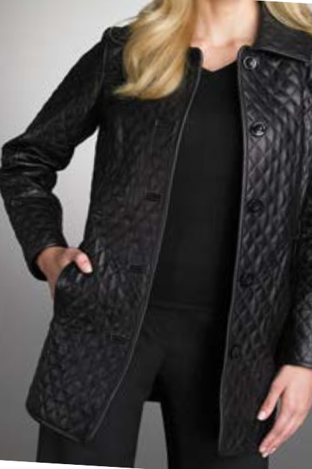 WOMEN,S QUILTED LEATHER JACKET, LONG QUILTED LEATHER JACKETS WOMENS