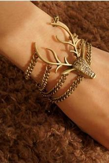 Retro Style Beautiful deer Bracelet