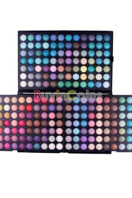 New 252 Color Eye Shadow Makeup Shimmer Matte Eyeshadow Palette Set