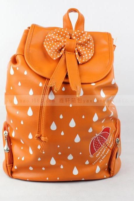 Bow PU backpack GD0702BD