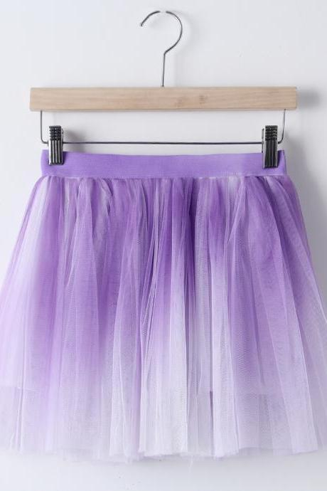 Gradient skirts GD0702FA