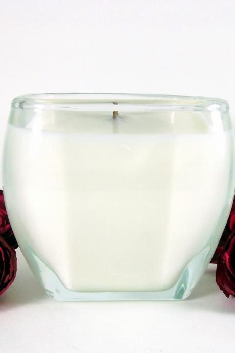 Coconut Soy Candle - Tapered Square Container
