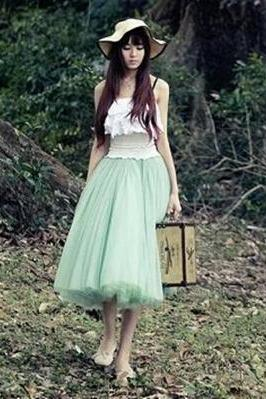 Lovely Skirt, Tulle Skirt 2014, Summer Skirts, Women Skirt