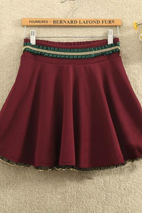Fashion waist short skirt