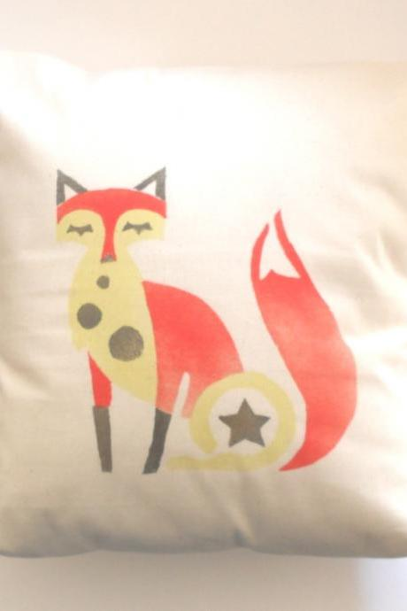 Funky Fox Pillow