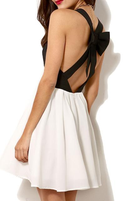 Charming V Neck Off the Shoulder A Line Dress