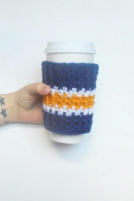 San Diego Team Colors Coffee Cozy.