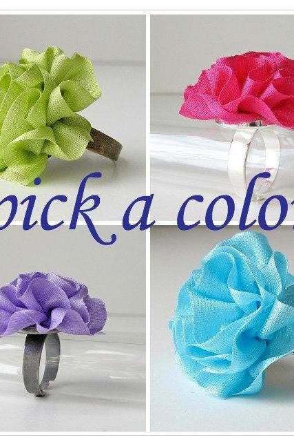 Silk Ring Pick a Color