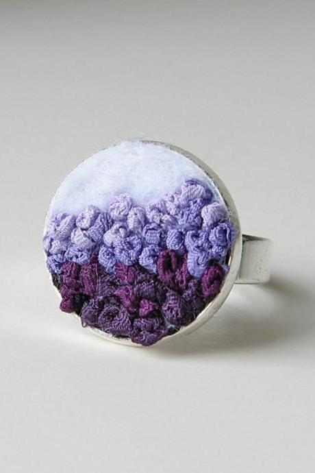 Purple Gradient Ring