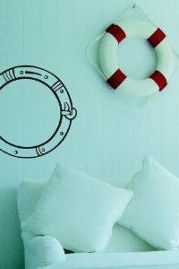 Porthole Decal Sticker Wall Art Graphic Fish Ocean Scuba Dive