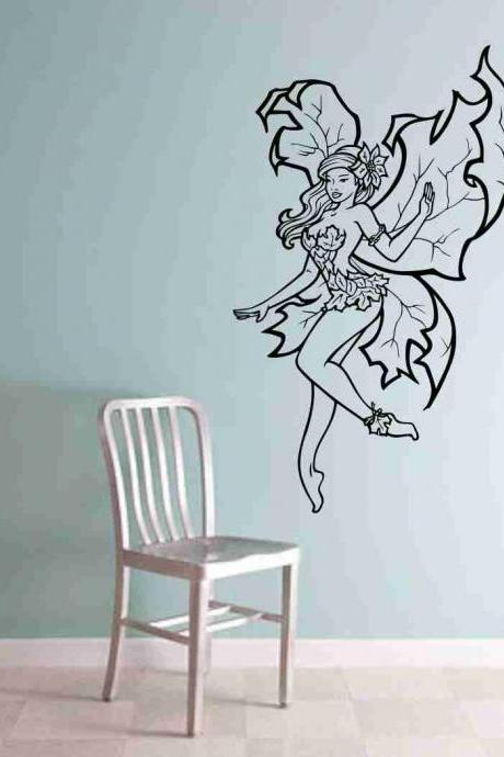 Fairy Version 102 Vinyl Wall Decal Sticker Decal Stickers Nursery Kids Room Fantasy