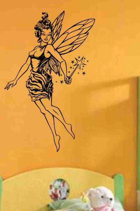 Fairy Version 101 Vinyl Wall Decal Sticker Decal Stickers Nursery Kids Room Fantasy