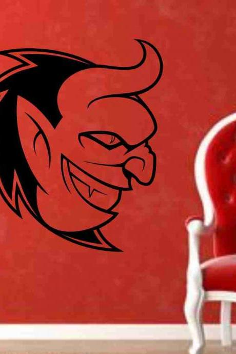 Devil Version 101 Wall Vinyl Decal Sticker Art Graphic Sticker Devils Satan