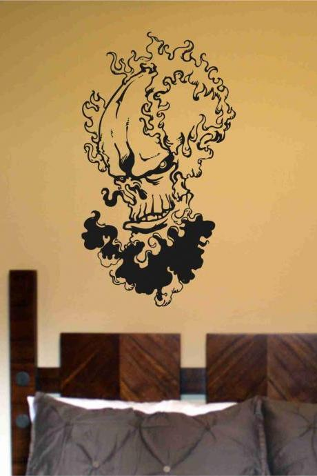 Skull Version 116 Bones Wall Vinyl Decal Sticker Art Graphic Sticker Skulls