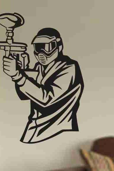Paintballer Version 102 Sticker Wall Decal Art Graphic