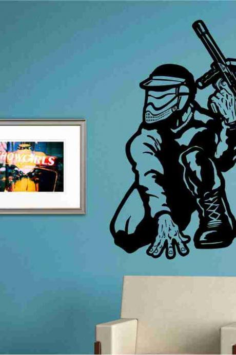 Paintballer Version 101 Sticker Wall Decal Art Graphic