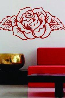 Rose Design Wall Decal Sticker Flowers