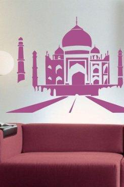 Taj Mahal Decal Sticker Wall