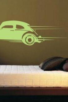 Volkswagen Bug Version 101 Wall Decal Sticker