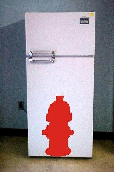 Fire Hydrant Decal Sticker Wall