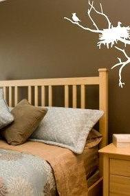 Nesting Birds Wall Decal Sticker