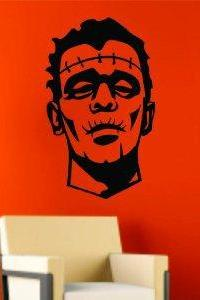 Frankenstein Decal Sticker Wall Art Graphic