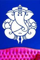 Ganesha Elephant Version 102 Decal Sticker Wall Art Graphic
