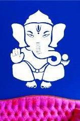 Ganesha Elephant Version 101 Decal Sticker Wall Art Graphic