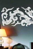 Chinese Tribal Dragon Decal Sticker Wall Art Graphic