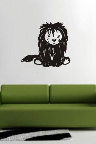 Lion Version 101 Decal Sticker Wall