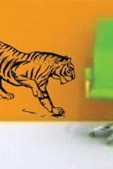 Large Tiger Version 102 Decal Sticker Wall