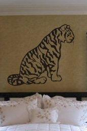 Tiger Version 101 Decal Sticker Wall