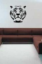 Tiger Face 101 Decal Sticker Wall