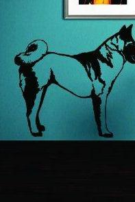Dog Version 105 Decal Sticker Wall