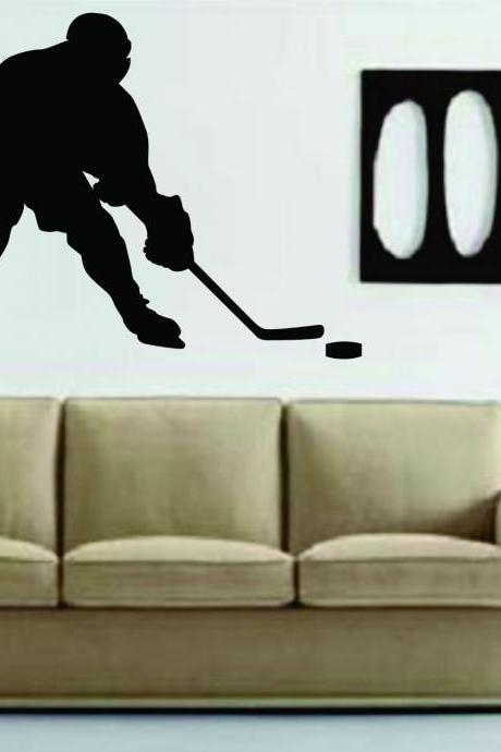 Ice Hockey Player Version 103 Decal Sticker Wall