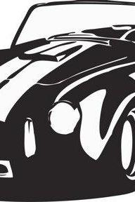 AC Cobra Decal Sticker Wall Art Graphic
