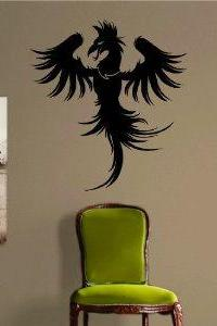 Dragonete Dragon Version 6 Decal Sticker Wall Decal Art Asian