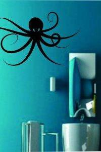 Octopus Decal Sticker Wall Version 103