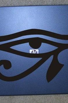 Eye of Horus Laptop Decal Sticker Eye Of The Moon The Eye Of Ra Art Graphic