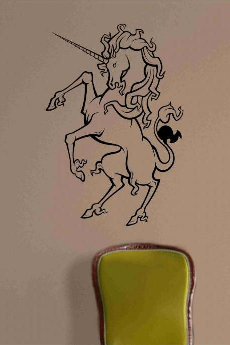 Unicorn Wall Vinyl Decal Sticker Art Graphic Sticker