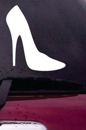 High Heel Decal Sticker Vinyl Decal Sticker Art Graphic Stickers Laptop Car Window