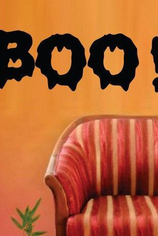 BOO Halloween Wall Vinyl Decal Sticker Art Graphic Sticker