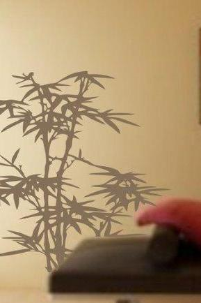 Bamboo Decal Sticker Vinyl Wall Art Plant Asian Japanese Plants Nursery