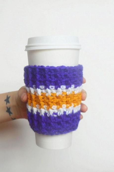 Minnesota Team Colors Coffee Cozy.