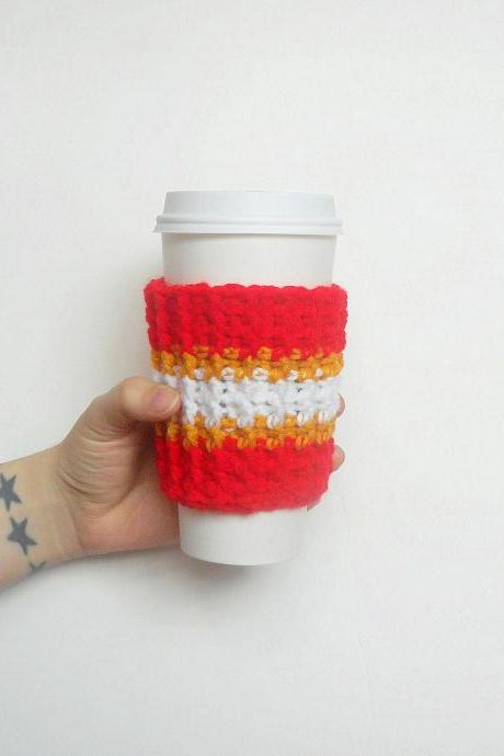 Missouri Team Coffee Cozy.