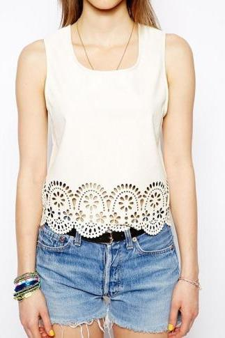 Lace Filigree T-shirt