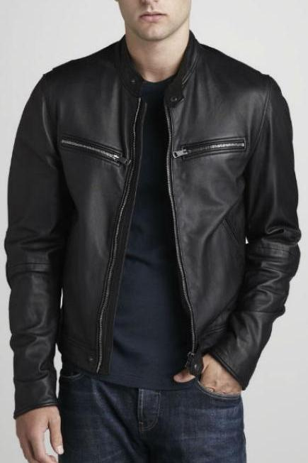 Men Leather Jacket, Mens motorcycle leather jacket, bomber leather jacket mens